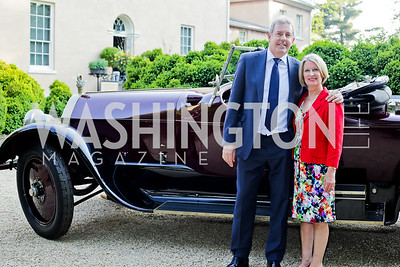 Britain Amb. Kim Darroch and Vanessa Darroch. Photo by Tony Powell. 2016 Tudor Place Bicentennial. May 25, 2016