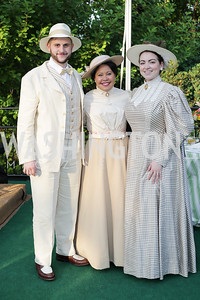 Opera Singers Michael Brandenburg, Ariahena Wehr, Raquel Gonzalez. Photo by Tony Powell. 2016 Tudor Place Bicentennial. May 25, 2016