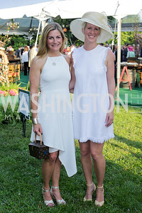 Mary Margaret Farren, Whitney Rosenthal. Photo by Tony Powell. 2016 Tudor Place Bicentennial. May 25, 2016