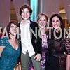 Calaneet Balas, Holden Moran, Heather McGowan, Lauren Gulotta. Photo by Tony Powell. Turn Up the Heat! Gala. Reagan Building. February 17, 2016
