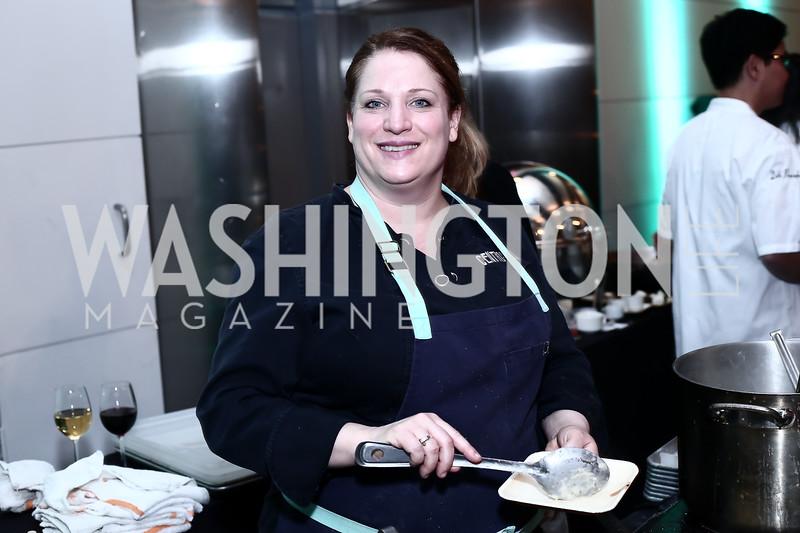 Chef Amy Brandein. Photo by Tony Powell. Turn Up the Heat! Gala. Reagan Building. February 17, 2016