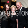 WWE Chief Brand Officer Stephanie McMahon, Linda McMahon, Wrestler Triple H. Photo by Tony Powell. 2016 USO Annual Awards Dinner. April 19, 2016