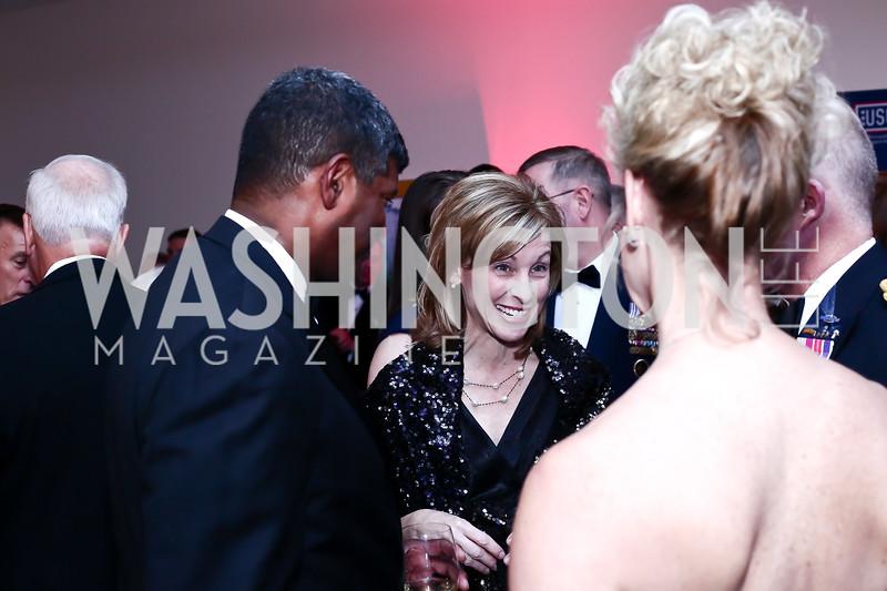Dinner Chair Leanne Caret. Photo by Tony Powell. 2016 USO Annual Awards Dinner. April 19, 2016