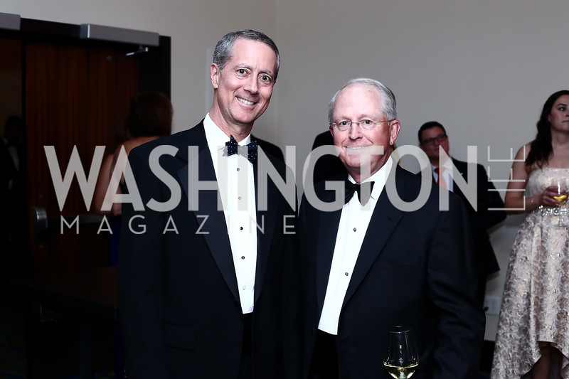 Mac Thornberry, Charles Cragin. Photo by Tony Powell. 2016 USO Annual Awards Dinner. April 19, 2016