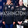 Master Sergeant Sheldon Cherry, Major Matthew Parente. Photo by Tony Powell. 2016 USO Annual Awards Dinner. April 19, 2016