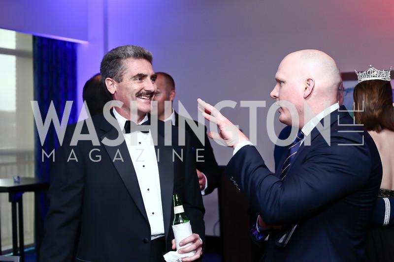 Brian Myers, James Jarosz. Photo by Tony Powell. 2016 USO Annual Awards Dinner. April 19, 2016