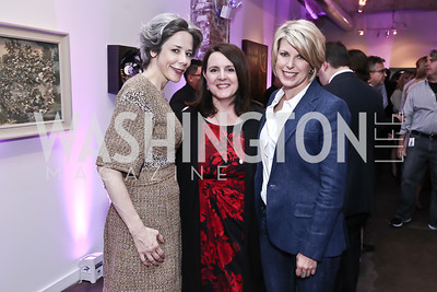 Heather Podesta, NEED, Penny Lee. Photo by Tony Powell. 2016 Virgin Atlantic Business is an Adventure Event. Longview Gallery. April 26, 2016