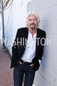 Sir Richard Branson. Photo by Tony Powell. 2016 Virgin Atlantic Business is an Adventure Event. Longview Gallery. April 26, 2016