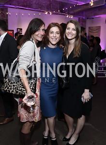Sarah Ingersoll, Jayne Sandman, Tace Joelle Loeb. Photo by Tony Powell. 2016 Virgin Atlantic Business is an Adventure Event. Longview Gallery. April 26, 2016