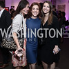 Sarah Ingersoll, Jayne Sandman, Tace Joelle Loeb. Photo by Tony Powell. 2016 Virgin Atlantic Business is an Adventure Event. Longview Gallery. April 26, 2016