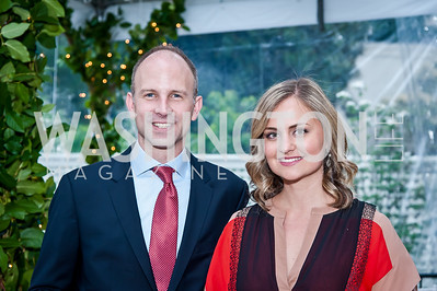 Kevin Delaney, Katie Weber. Photo by Tony Powell. 2016 WHCD Bradley Welcome. April 29, 2016