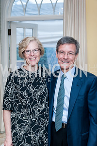 Jill Garling, Thomas Wilson. Photo by Tony Powell. 2016 WHCD Bradley Welcome. April 29, 2016