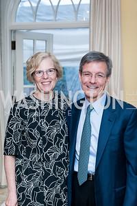 Jill Garling, Thomas Wilson. Photo by Tony Powell. 2016 WHCD Bradley Welcome. April 29, 2016