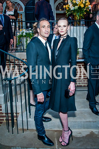 Adam Cahan, Anne Vyalitsyna. Photo by Tony Powell. 2016 WHCD Bradley Welcome. April 29, 2016