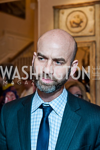 James Bennett. Photo by Tony Powell. 2016 WHCD Bradley Welcome. April 29, 2016