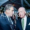 Paul Pelosi, David Bradley. Photo by Tony Powell. 2016 WHCD Bradley Welcome. April 29, 2016