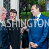 David Bradley, Lauren Thomson, Carl Woog. Photo by Tony Powell. 2016 WHCD Bradley Welcome. April 29, 2016
