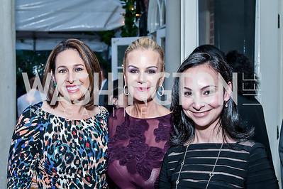 Nancy Fortis, Susanna Quinn, Natalie Earnest. Photo by Tony Powell. 2016 WHCD Bradley Welcome. April 29, 2016