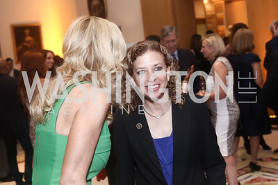 DNC Chair Debbie Wasserman Schultz. Photo by Tony Powell. Bytes & Bylines. Residence of Spain. April 28, 2016