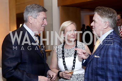 Ed and Virginia Murphy, Jack Quinn. Photo by Tony Powell. Bytes & Bylines. Residence of Spain. April 28, 2016
