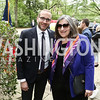 HRC President Chad Griffin, Mandy Grunwald. Photo by Tony Powell. 2016 WHCD Garden Brunch. April 30, 2016