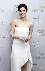 Actress Jaimie Alexander. Photo by Tony Powell. 2016 WHCD Garden Brunch. April 30, 2016