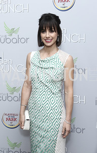 Constance Zimmer. Photo by Tony Powell. 2016 WHCD Garden Brunch. April 30, 2016