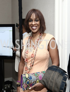 Gayle King. Photo by Tony Powell. 2016 WHCD Garden Brunch. April 30, 2016