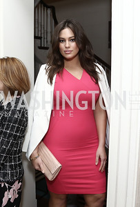 First plus-size model to grace Sports Illustrated cover Ashley Graham. Photo by Tony Powell. 2016 WHCD Garden Brunch. April 30, 2016