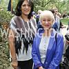 Tammy Haddad, Dame Helen Mirren. Photo by Tony Powell. 2016 WHCD Garden Brunch. April 30, 2016