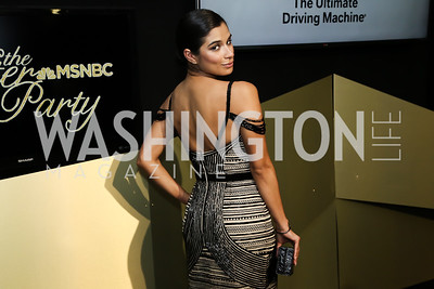 Orange Is the New Black Actress Diane Guerrero. Photo by Tony Powell. 2016 WHCD MSNBC After Party. Inst. of Peace. April 30, 2016