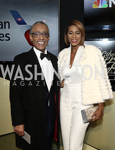Al Sharpton, Aisha McShaw. Photo by Tony Powell. 2016 WHCD MSNBC After Party. Inst. of Peace. April 30, 2016