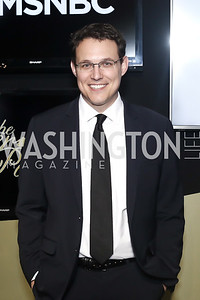 MSNBC Political Analyst Steve Kornacki. Photo by Tony Powell. 2016 WHCD MSNBC After Party. Inst. of Peace. April 30, 2016