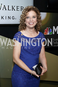 DNC Chair Debbie Wasserman Schultz. Photo by Tony Powell. 2016 WHCD MSNBC After Party. Inst. of Peace. April 30, 2016