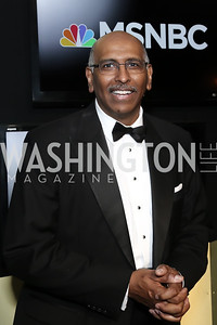 MSNBC political analyst Michael Steele. Photo by Tony Powell. 2016 WHCD MSNBC After Party. Inst. of Peace. April 30, 2016