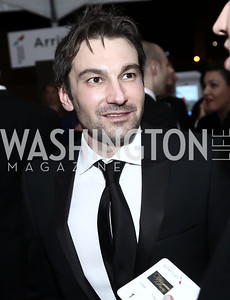 Tinder co-founder Jonathan Badeen. Photo by Tony Powell. 2016 WHCD MSNBC After Party. Inst. of Peace. April 30, 2016