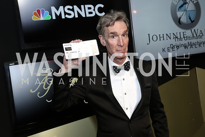 Bill Nye the Science Guy. Photo by Tony Powell. 2016 WHCD MSNBC After Party. Inst. of Peace. April 30, 2016