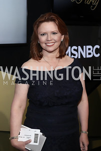 NBC News Lead Capitol Hill Correspondent Kelly O'Donnell. Photo by Tony Powell. 2016 WHCD MSNBC After Party. Inst. of Peace. April 30, 2016