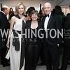 Katherine Bradley, American Federation of Teachers President Randi Weingarten, David Bradley. Photo by Tony Powell. 2016 WHCD Pre-parties. Hilton Hotel. April 30, 2016