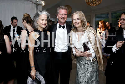 Liza Gilbert, Shaun Donovan, Jennifer Isham. Photo by Tony Powell. 2016 WHCD Pre-parties. Hilton Hotel. April 30, 2016