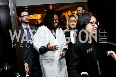 Whoopi Goldberg, Raven-Symoné. Photo by Tony Powell. 2016 WHCD Pre-parties. Hilton Hotel. April 30, 2016