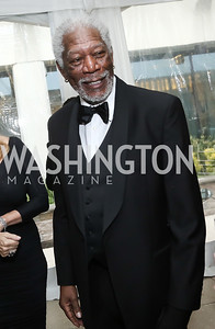 Actor Morgan Freeman. Photo by Tony Powell. 2016 WHCD Pre-parties. Hilton Hotel. April 30, 2016