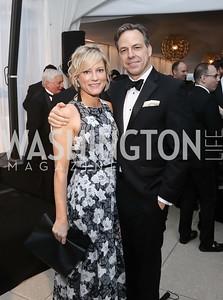 Jennifer Tapper and CNN Chief Washington Correspondent Jake Tapper. Photo by Tony Powell. 2016 WHCD Pre-parties. Hilton Hotel. April 30, 2016