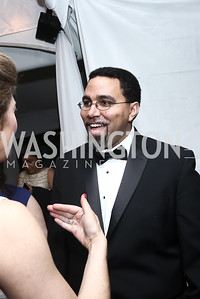Sec. of Education John King. Photo by Tony Powell. 2016 WHCD Pre-parties. Hilton Hotel. April 30, 2016