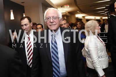 Bernie Sanders. Photo by Tony Powell. 2016 WHCD Pre-parties. Hilton Hotel. April 30, 2016