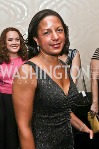 Dr. Susan Rice. Photo by Tony Powell. 2016 WHCD Pre-parties. Hilton Hotel. April 30, 2016