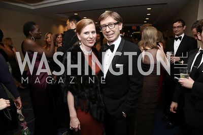 Huberta Wittig and Germany Amb. Peter Wittig. Photo by Tony Powell. 2016 WHCD Pre-parties. Hilton Hotel. April 30, 2016