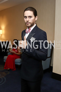 Jared Leto. Photo by Tony Powell. 2016 WHCD Pre-parties. Hilton Hotel. April 30, 2016
