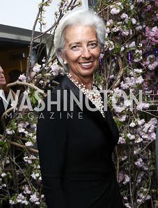 Christine Lagarde. Photo by Tony Powell. 2016 WHCD Pre-parties. Hilton Hotel. April 30, 2016