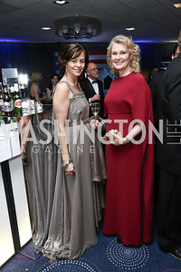 VOLVO CMO Bodil Eriksson, Genny Ryan. Photo by Tony Powell. 2016 WHCD Pre-parties. Hilton Hotel. April 30, 2016